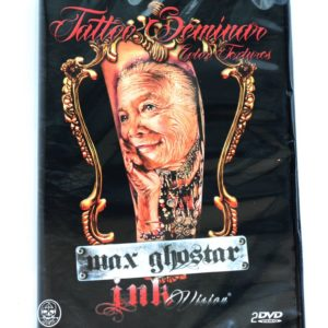 seminario tattoo color textures max ghostar dvd