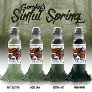 gorsky´s sinful spring set